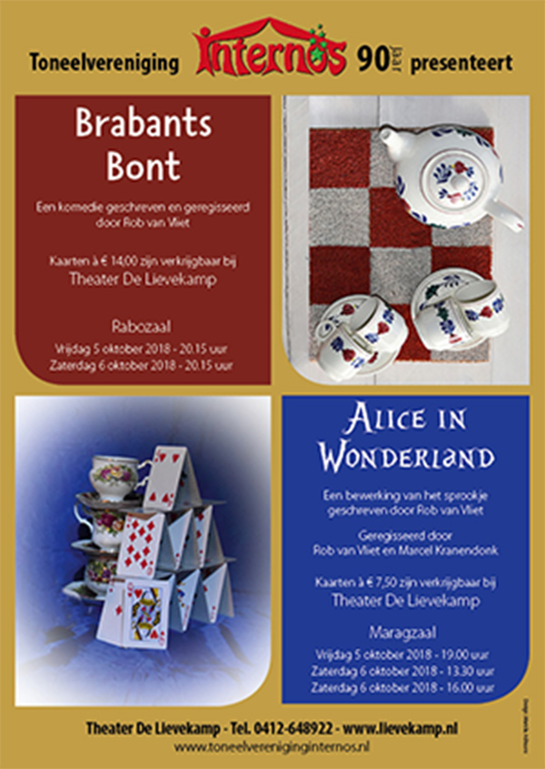 2018 Poster Brabants/Alice
